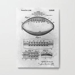 1938 Football Metal Print