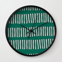 Spring Line Up No 02 Wall Clock