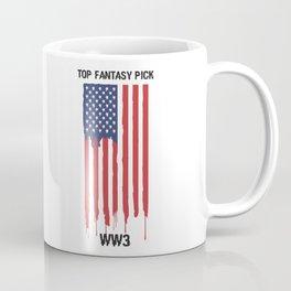 Top Fantasy Pick WW3 Coffee Mug