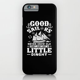 Sailing Sailor iPhone Case