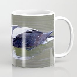 Watercolor Bird, Long Tailed Duck 01, Meadowlark Gardens, Virginia, Arctic Beauty Coffee Mug