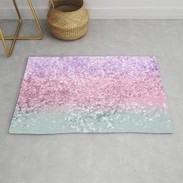 Unicorn Girls Glitter #7a #shiny #pastel #decor #art #society6 Rug