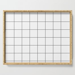 Grid Serving Tray