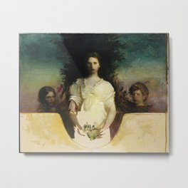 Abbott Handerson Thayer - My Children (1910) Metal Print