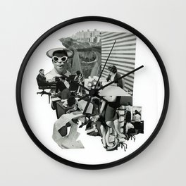 Working Girls Wall Clock
