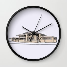 Darwin Martin House Wall Clock