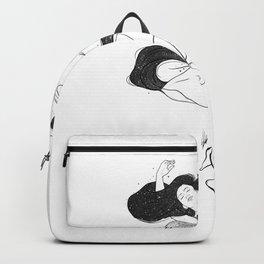 Hairy dreamer. Backpack