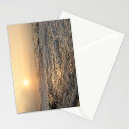sunset hookipa beach maui hawaii Stationery Cards