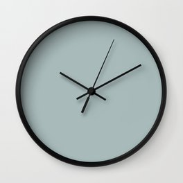 PPG Glidden Accent Color to Night Watch Blue Willow Green PPG1145-4 Solid Color Wall Clock