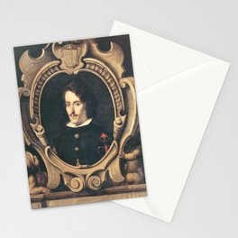 Bartolome Esteban Murillo - Portrait of Diego Ortiz de Zúñiga Stationery Cards