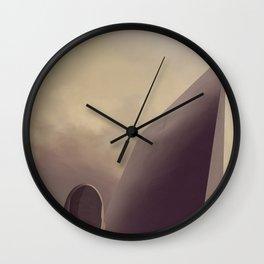 Terra Ternary Wall Clock