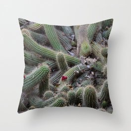 Cactus tangle Throw Pillow