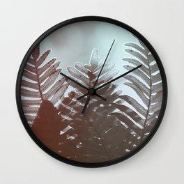 Natural Crown Wall Clock