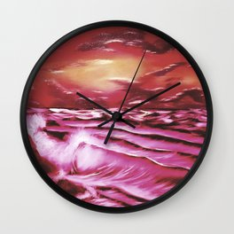 Crimson Tide Wall Clock
