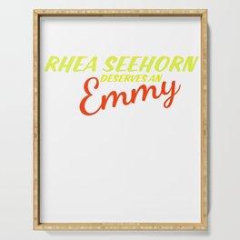Rhea Seehorn Deserves an Emmy Serving Tray