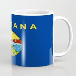 flag of montana,america,usa,big sky,treasure state, montanan,west,Billings,missoula,great falls Coffee Mug