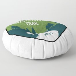Banks-Vernonia Trail Floor Pillow