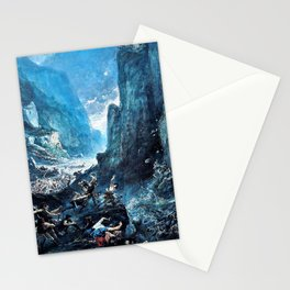 Gustave Dore - Roland1 at Roncevaux - Digital Remastered Edition Stationery Cards