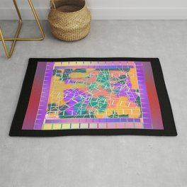 SCRIBBLES AND LADDERS Rug