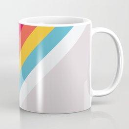 Classic 70s Vintage Style Retro Stripes - Bananass Coffee Mug