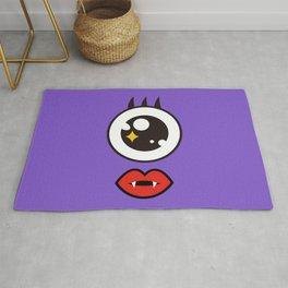 Monsticky Purple Rug