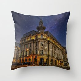 Grand Hotel Continental | Bucharest | Romania  Throw Pillow