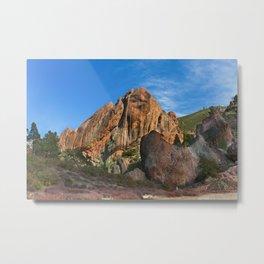 Machete Ridge Metal Print