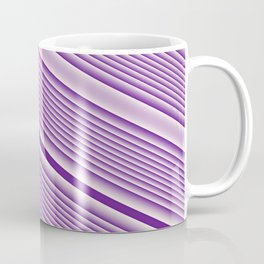 Purple Stripes Coffee Mug