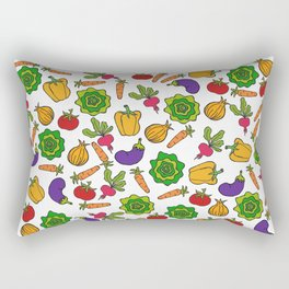 Vegetables Rectangular Pillow