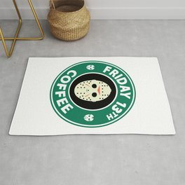 Friday The 13th Coffee Rug