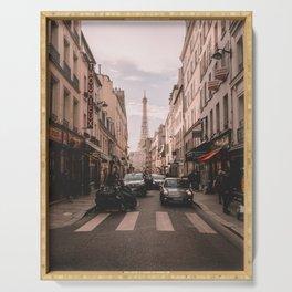Vintage Paris, France (Color) Serving Tray