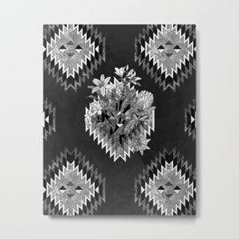 mother (monochrome series) Metal Print