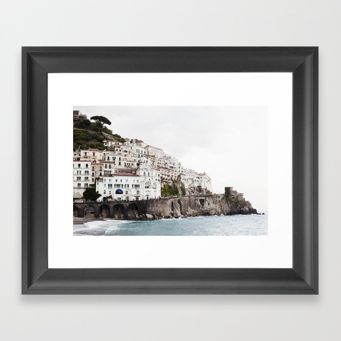 Amalfi Coast Gerahmter Kunstdruck
