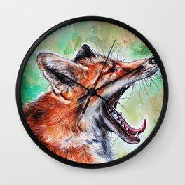 Yaaaawn Wall Clock