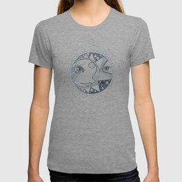 Moon, Sun, and Stars T-shirt