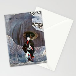 Out of the Cave, Into the Storm, the Hero Prepares for the Next Battle Stationery Cards