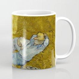 Vincent Van Gogh - Noon, Rest from work / Siesta Coffee Mug