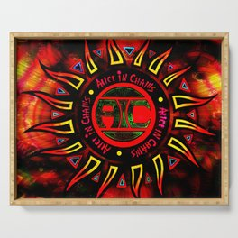 alice in chains the logo Serving Tray