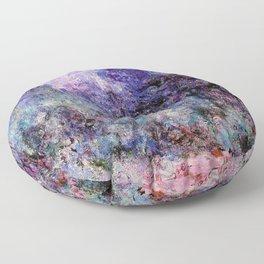 Monet : The House Seen From the Rose Garden Floor Pillow