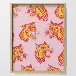 Tigerpop pattern Serving Tray