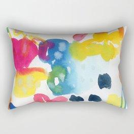 abstract watercolor Rectangular Pillow