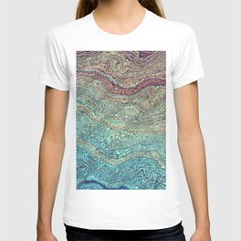 Pearl Marble texture T-shirt