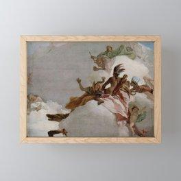 Apotheose der Familie Pisani (Tiepolo 1760) Framed Mini Art Print