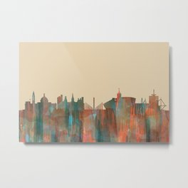 Cardiff, Wales UK Skyline - Navaho Metal Print
