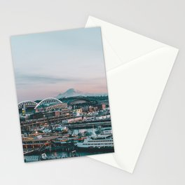 Seattle & Mount Rainier Stationery Cards