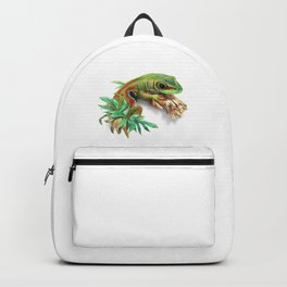 Green Gecko Backpack
