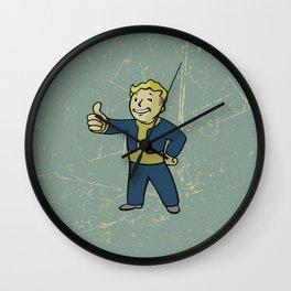 Vault Boy - fallout 4 Wall Clock