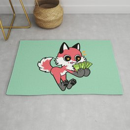 Money Fox Rug
