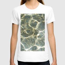 Golden Ripples Jade Sea T-shirt