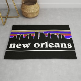 New Orleans Cityscape Rug